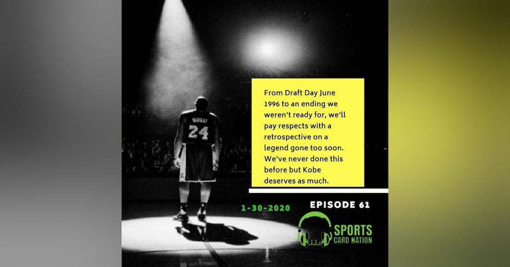 Ep.61 Kobe Bryant: Homage to a Sports & Hobby Icon