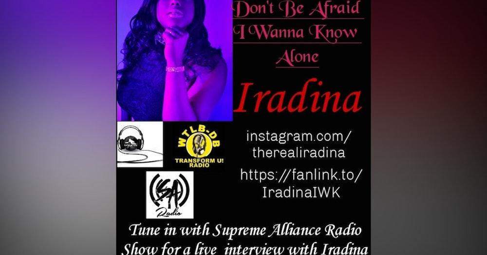Supreme Alliance Radio Show interview with Iradina