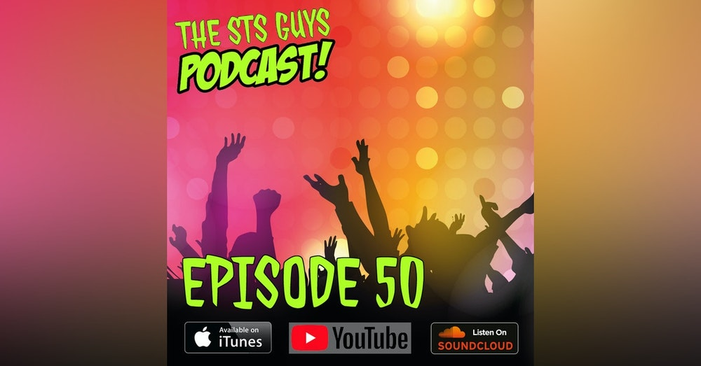 The STS Guys - Episode 50: Comic Books, Cereal & Cons