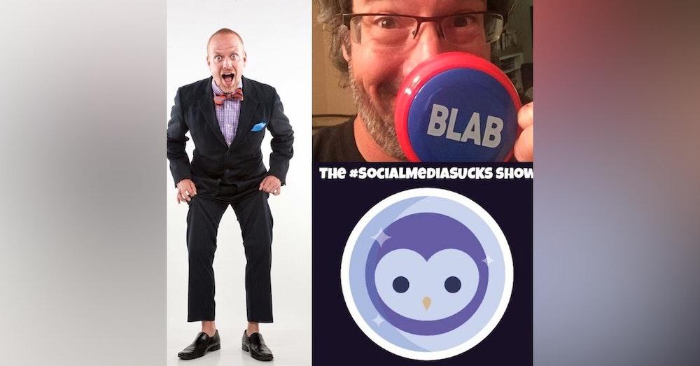 The Social Media SUCKS Show on Blab w/ Social Media Marketing Author, Speaker, Joel Comm