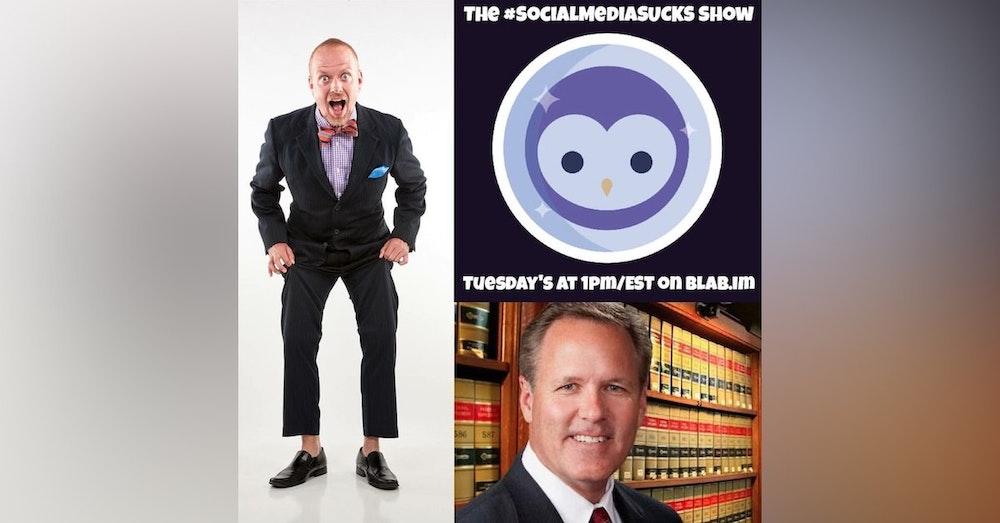 EPISODE 17: The Social Media Sucks Show - Mitch Jackson : Social Media Copyright Law