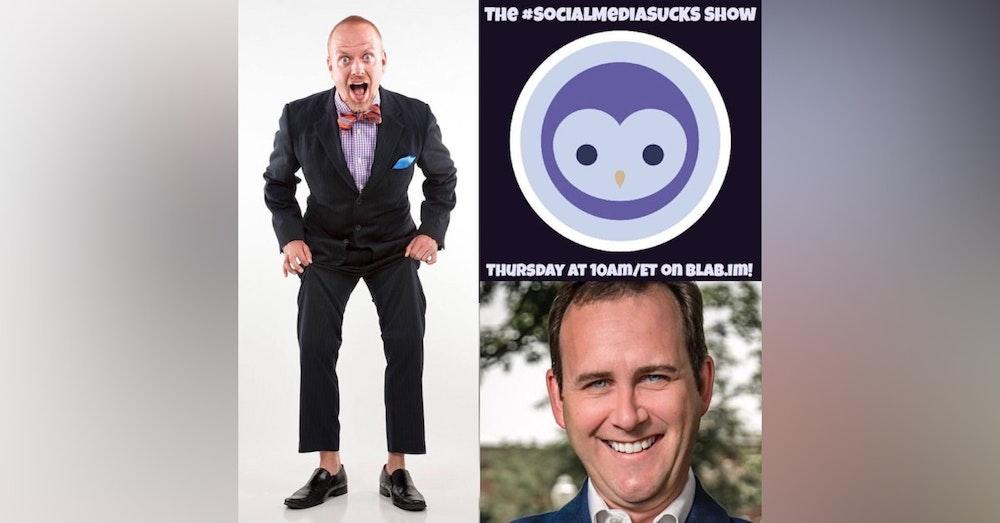 The Social Media SUCKS Show w/ Digital Strategist Scott Monty - Social Media Marketing 2016
