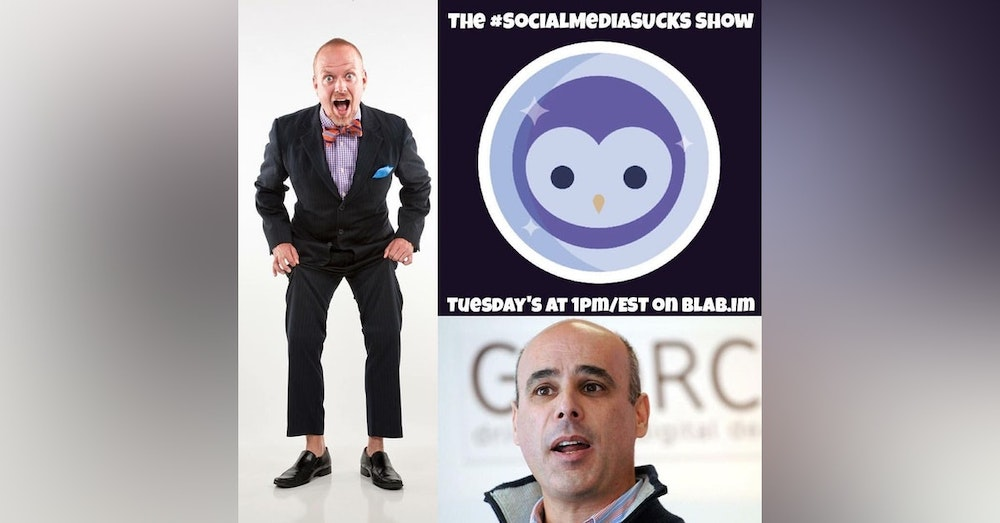 EPISODE 15: The Social Media SUCKS Show - Mark Shaw - Twitter, Live Streaming & #TagTribes
