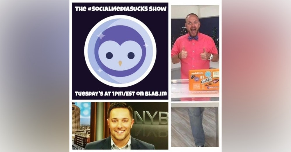 EPISODE 14 The Social Media SUCKS Show on Blab : How to Create Great Content w/ Vincenzo Landino