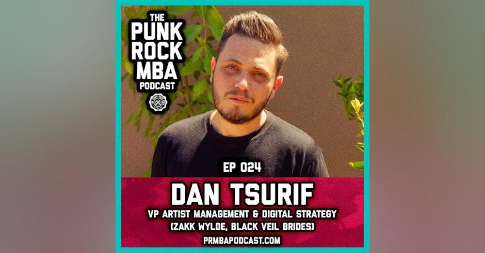 Dan Tsurif (VP Artist Management  & Digital Strategy)