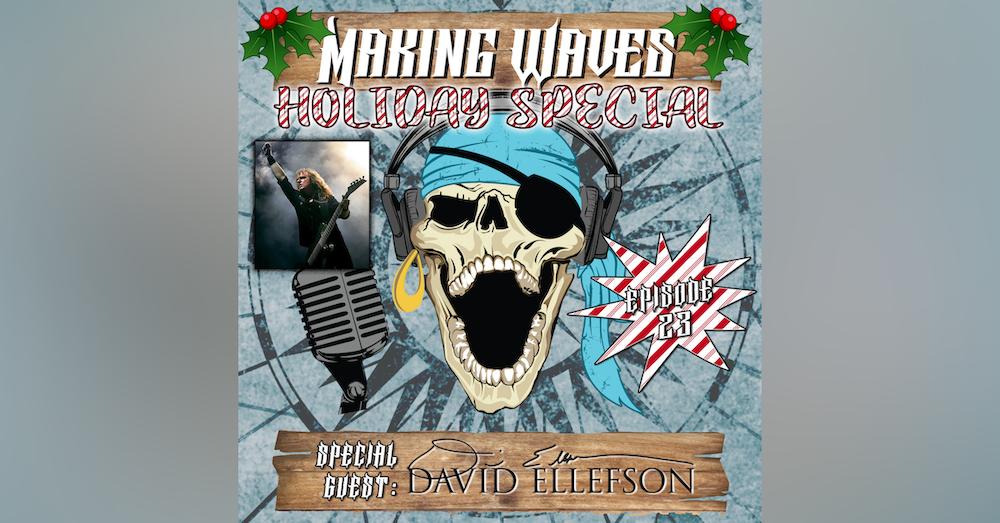 David Ellefson of Megadeth Makes Waves!