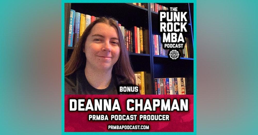 Deanna Chapman (PRMBA Podcast Producer)