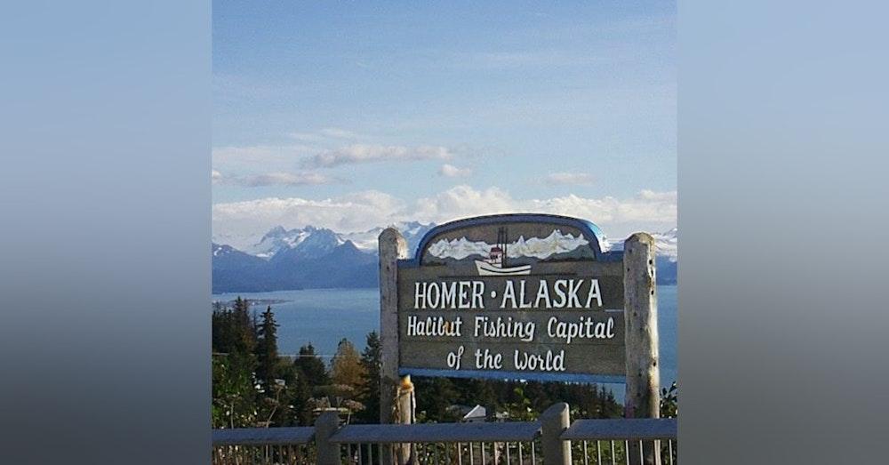 Ep. 114 PADDY ON THE STREET: HOMER, ALASKA