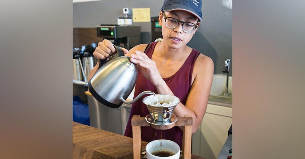 Lieanne Navarro of Dear Globe Coffee Roasters