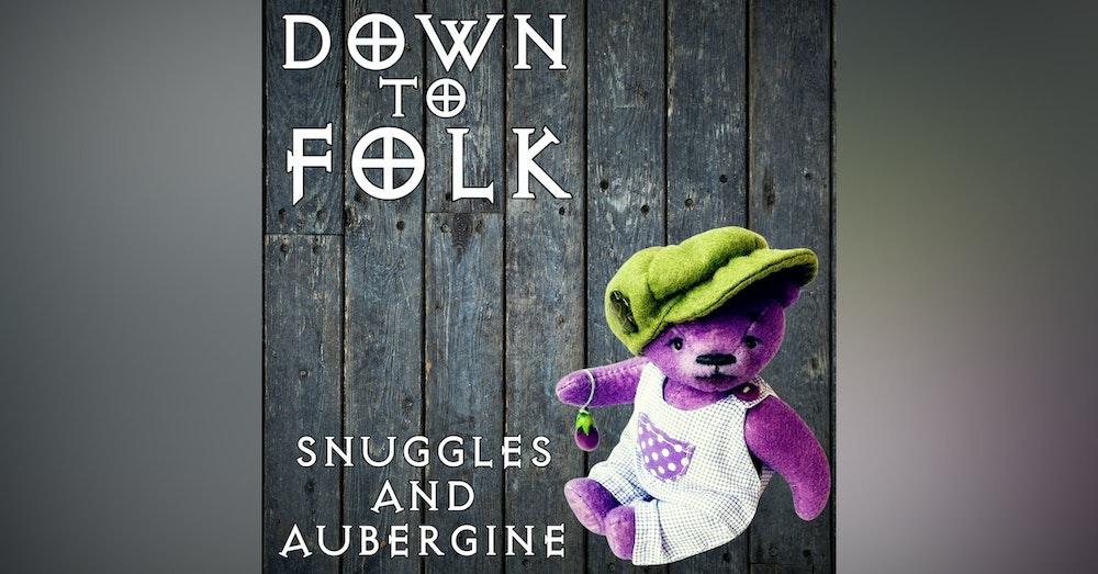 Snuggles and Aubergine