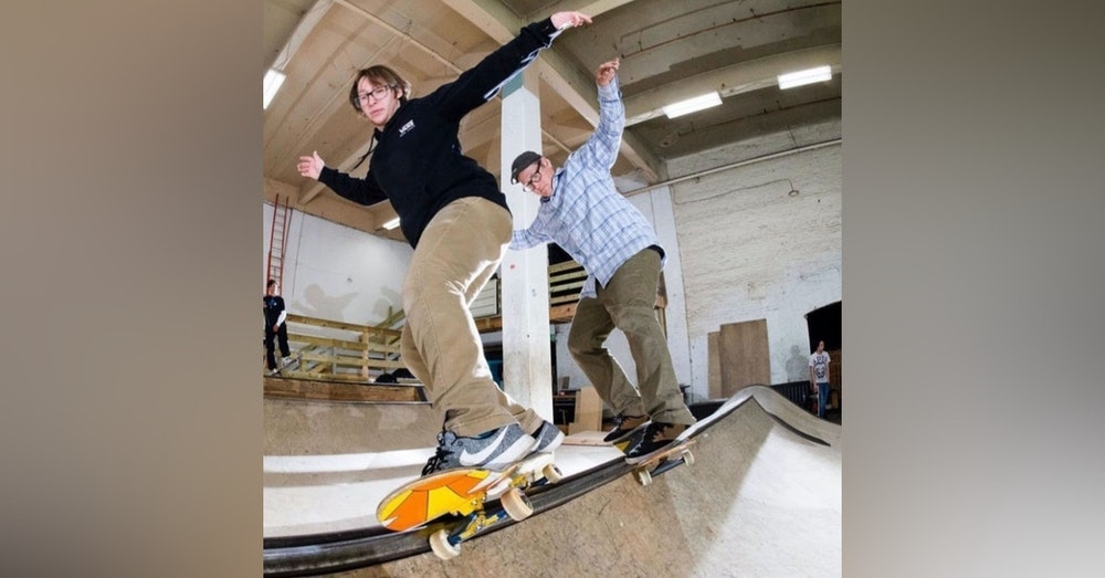 Jason Chapman of Charm City Skatepark