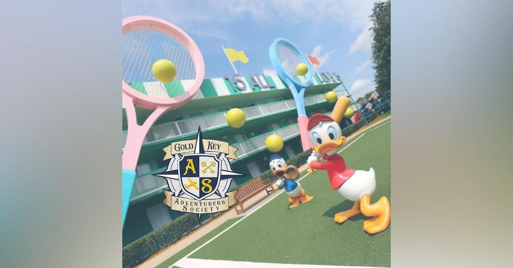 Theme Park Olympics Draft Day