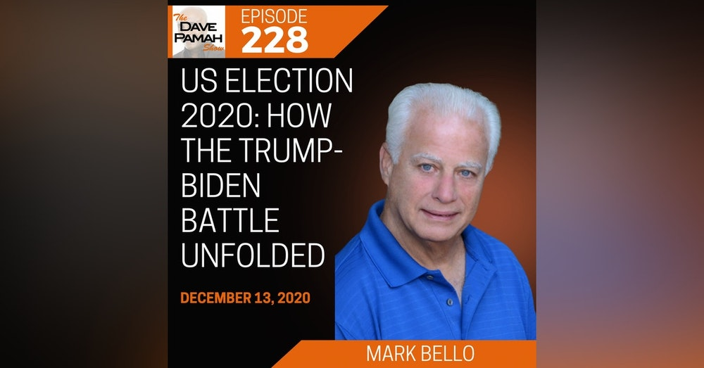 US election 2020: How the Trump-Biden battle unfolded with Mark Bello