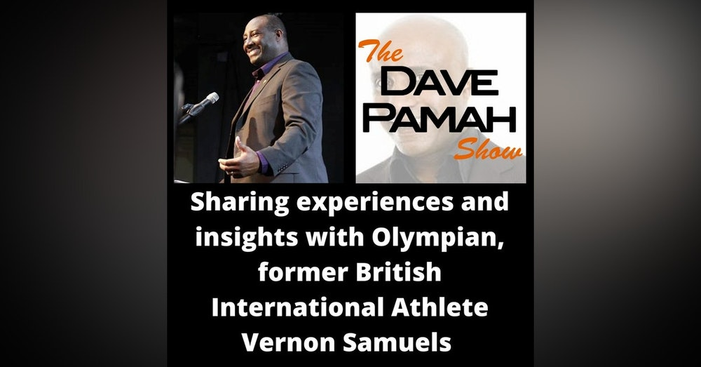 Sharing experiences and insights with Olympian, former British International Athlete Vernon Samuels