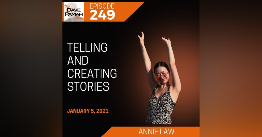 Telling and creating stories with Annie Law