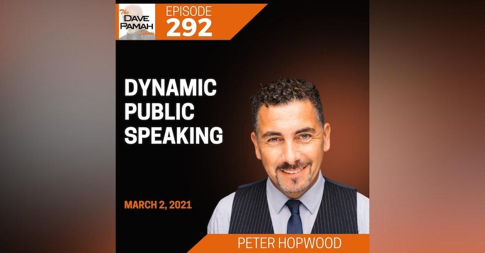 Dynamic public speaking with Peter Hopwood