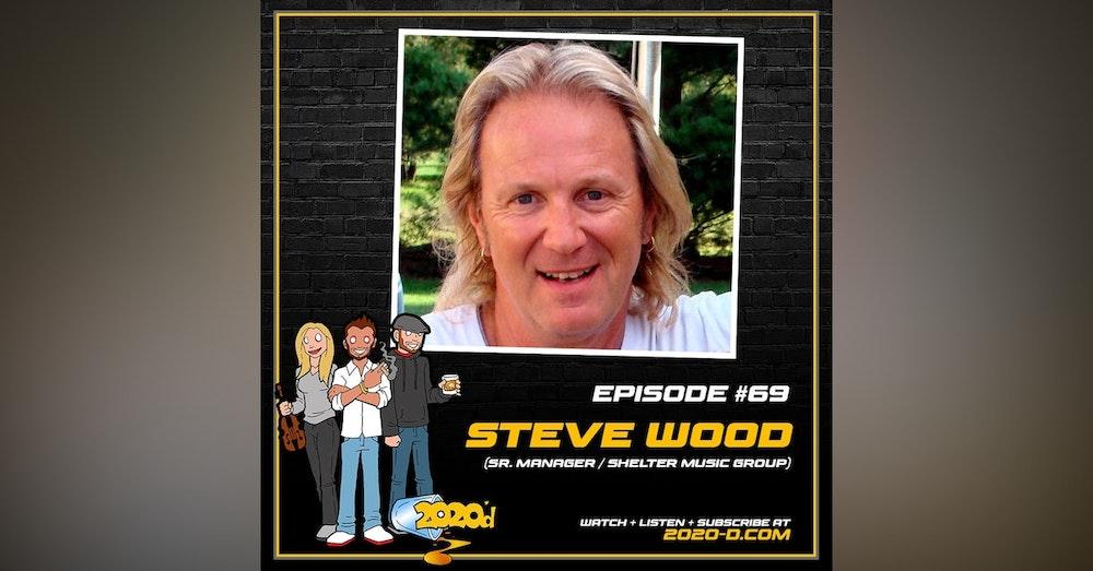 Steve Wood: Dinner with George Harrison