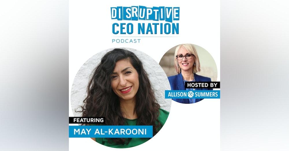 May Al-Karooni - Founder & CEO of Globechain