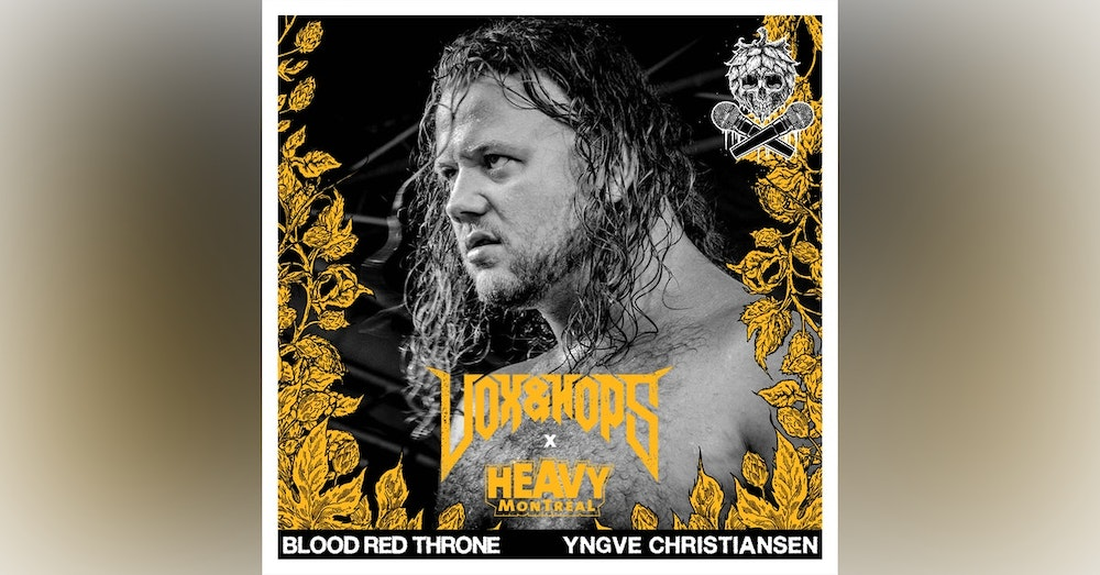 """Focusing on the Present with Yngve """"Bolt"""" Christiansen of Blood Red Throne"""