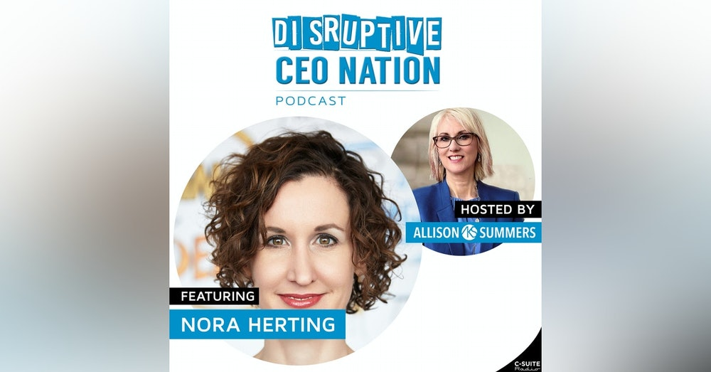EP 113 Nora Herting, International Visual Strategist, CEO, Co-Founder of ImageThink