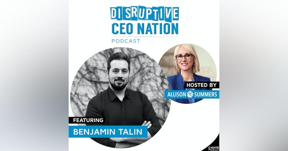 EP 111 Benjamin Talin, CEO and Founder, More Than Digital, Switzerland