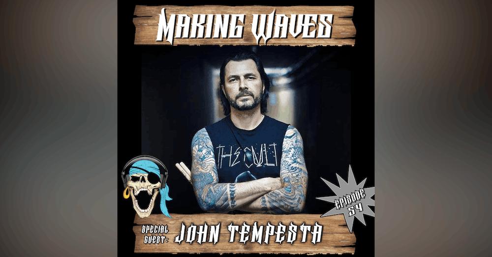 Ep. 54 John Tempesta (The Cult, Rob Zombie, Exodus)