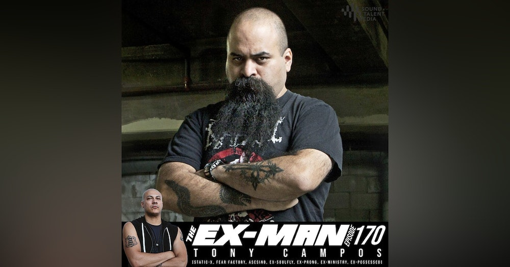 Tony Campos (Static-X, Fear Factory, Asesino, ex-Soulfly, ex-Prong, ex-Ministry, ex-Possessed)