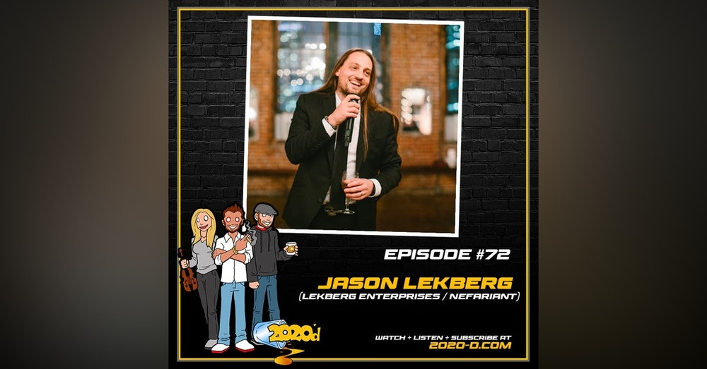 Jason Lekberg: Believing in Yourself to a FRIGHTENING Degree