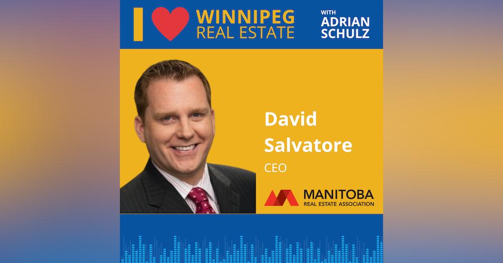 David Salvatore on the Manitoba Real Estate Association