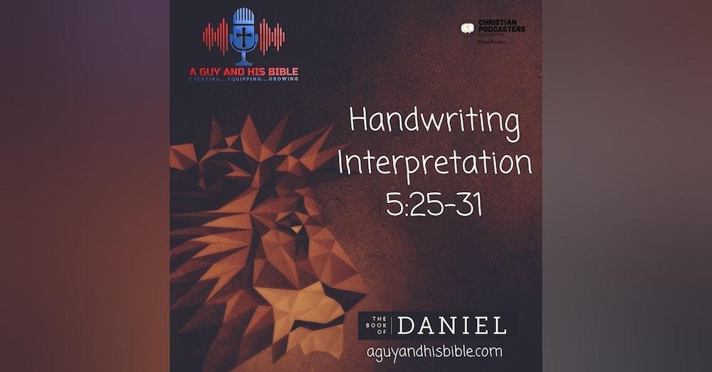 Daniel 5 25-31