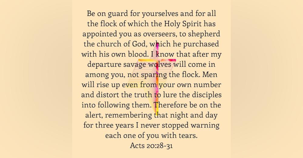 Paul's Farewell Address To The Ephesians