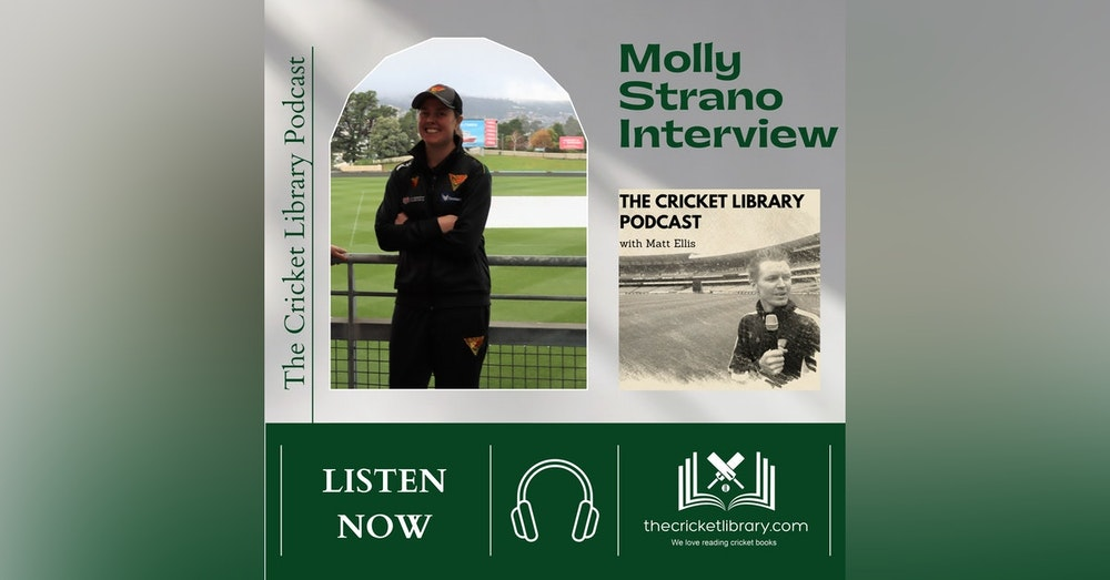 Molly Strano - Special Guest on the Cricket Library Podcast