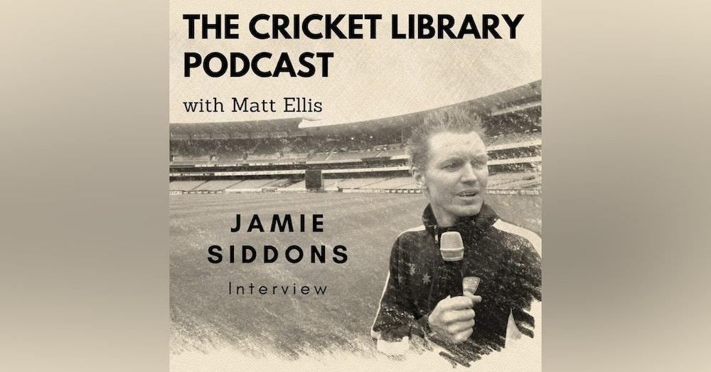 Jamie Siddons Interview