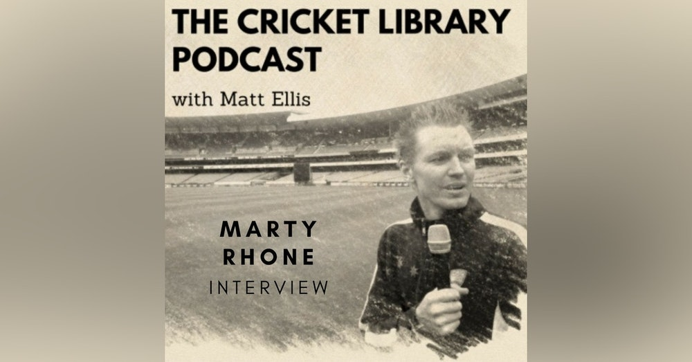 Cricket - Marty Rhone Interview