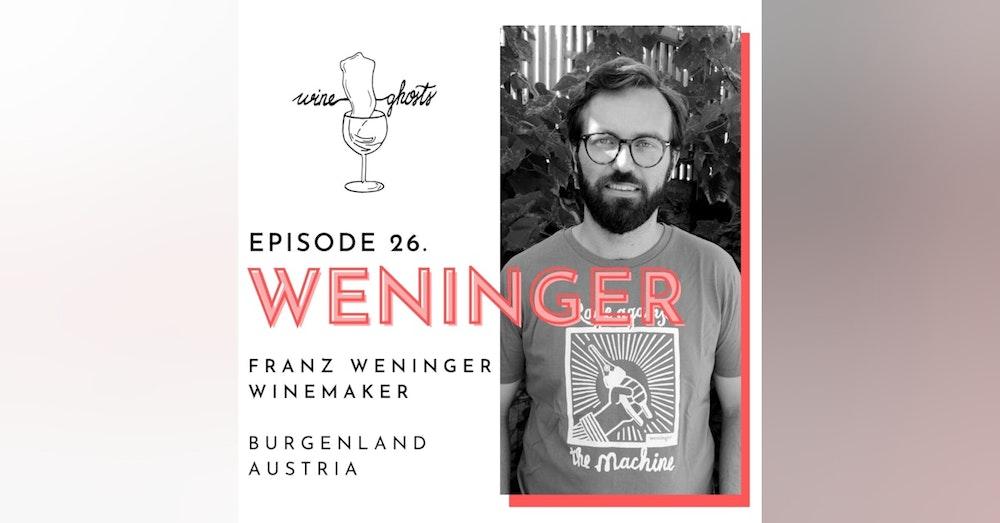 Ep. 26. / Franz Weninger's hand-made biodynamic wines across the border