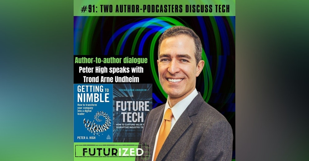 Two Author-Podcasters Discuss Tech