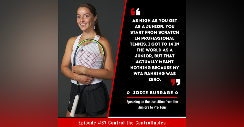 Episode 87: Jodie Burrage - On the rise