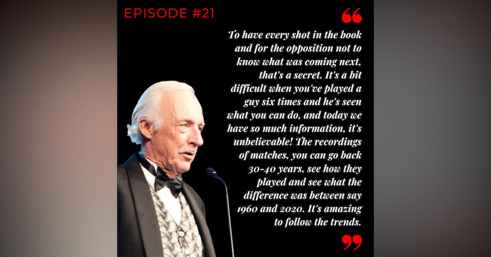 Episode 21: Ian Barclay - Not in the net!