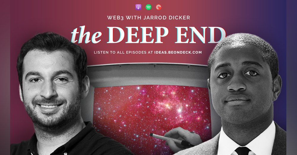 Web3 with Jarrod Dicker, investor at the Chernin Group