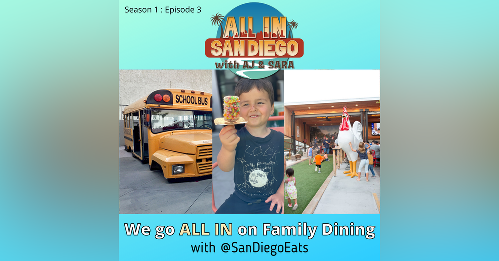 ALL IN on Family Dining with @SanDiegoEats