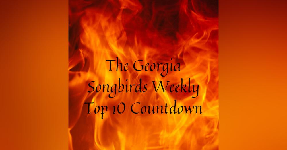The Georgia Songbirds Weekly Top 10 Countdown Week 36