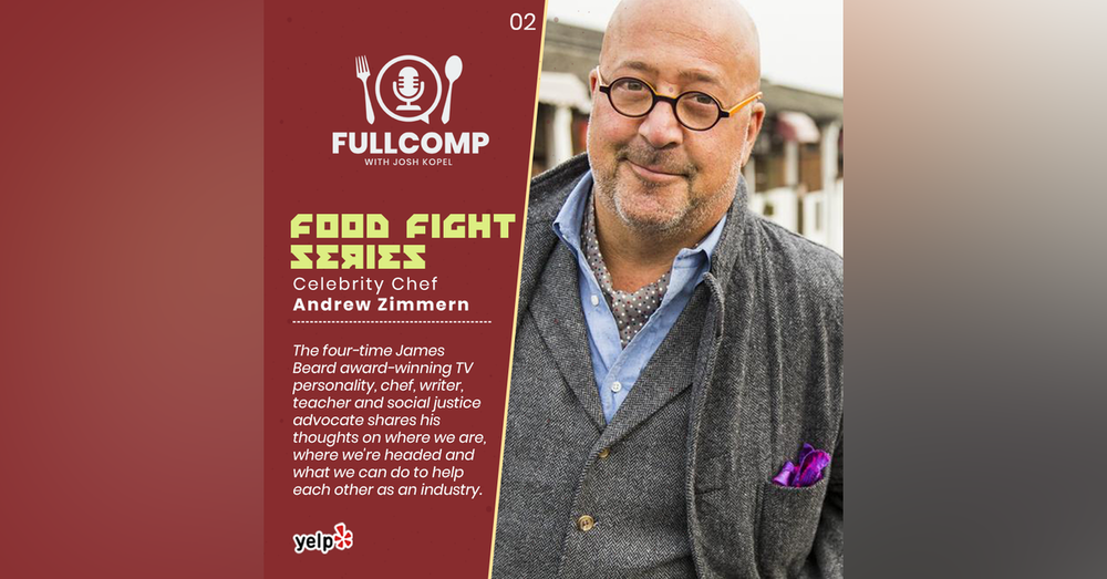 Food Fight Series: Celebrity Chef Andrew Zimmern