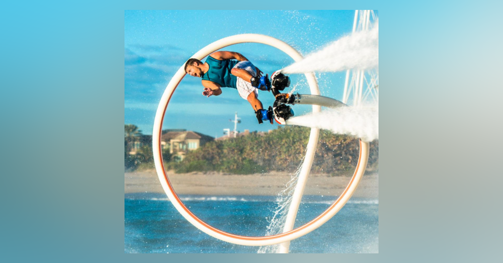 Let's Talk About Hydroflight (aka Flyboard) - Interview with Hydroflight Athlete & Business Owner Ben Merrell