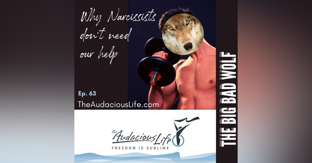 Why Narcissists don't need our help