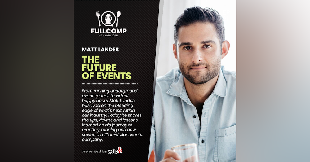 The Future of Events: Matt Landes, founder of Cocktail Academy