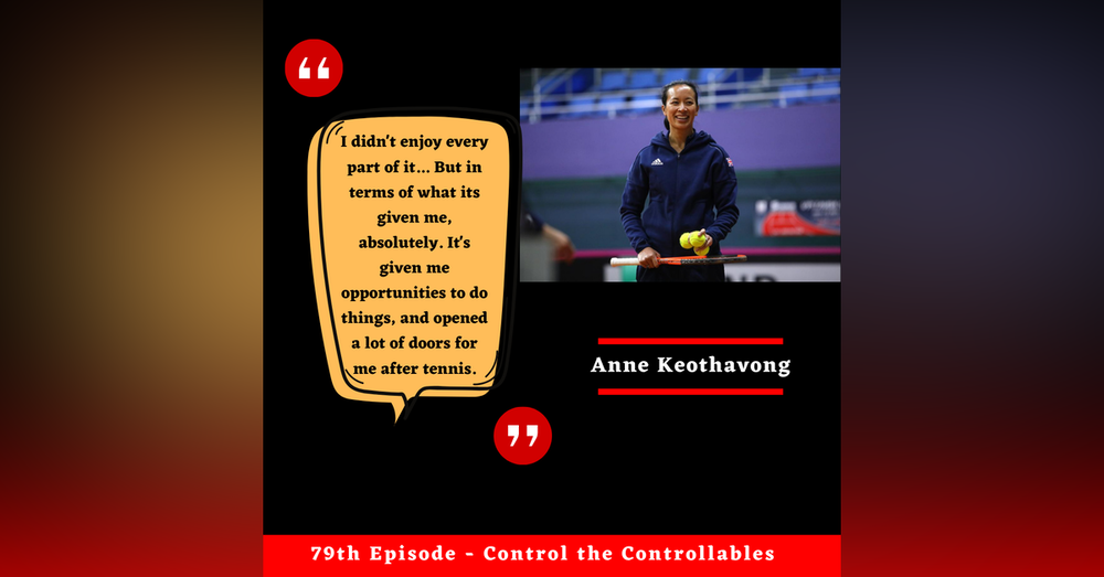 Episode 79: Anne Keothavong - A full circle to the Copper Box