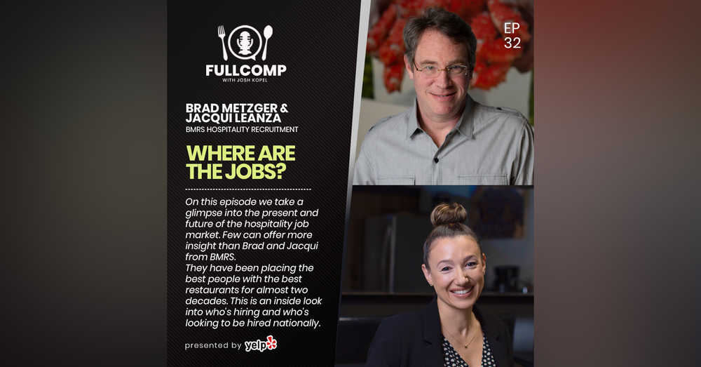 Where are the Jobs?: Brad Metzger + Jacqui Leanza of BMRS Hospitality Recruitment