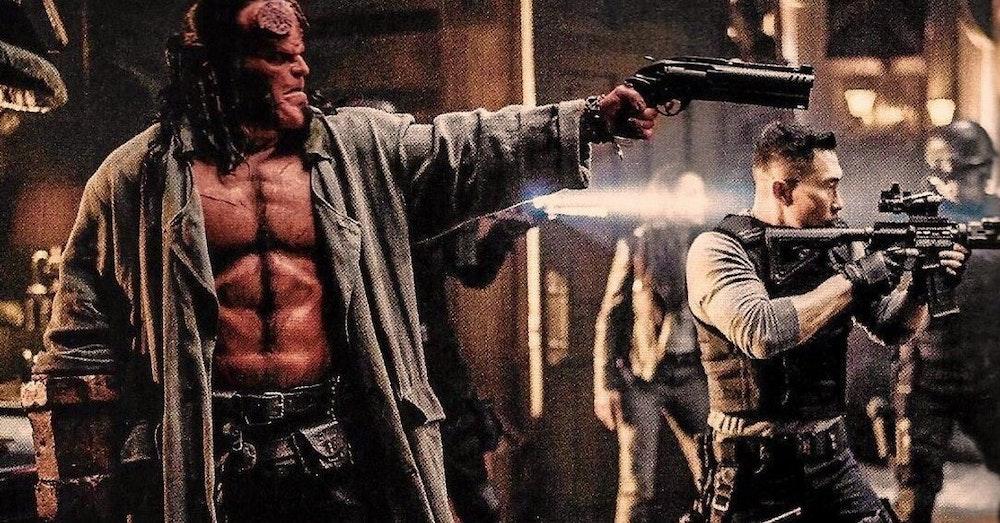 Hellboy and Apple & Onion