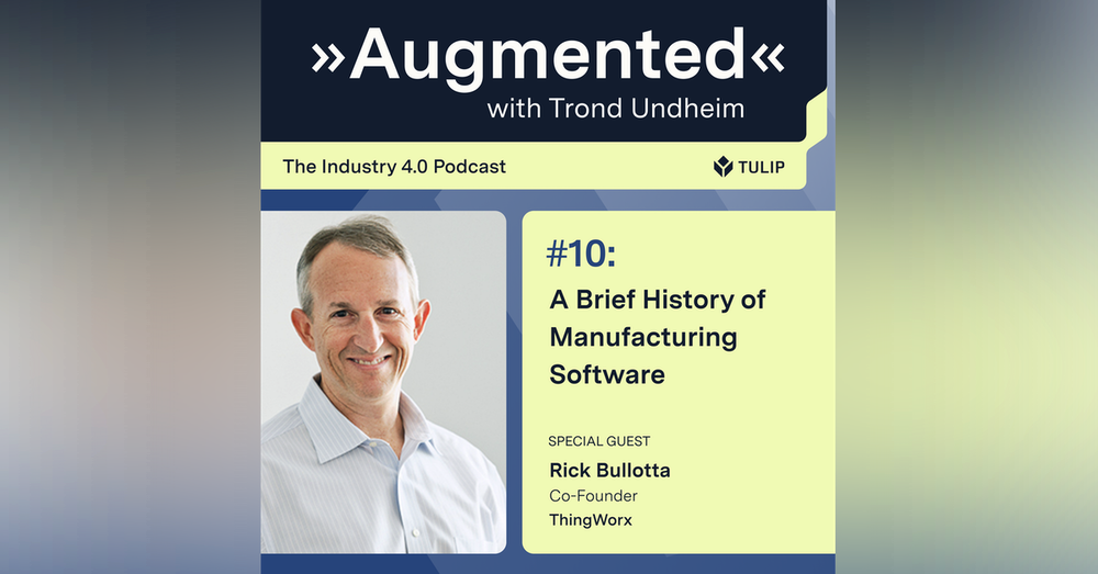 A Brief History of Manufacturing Software