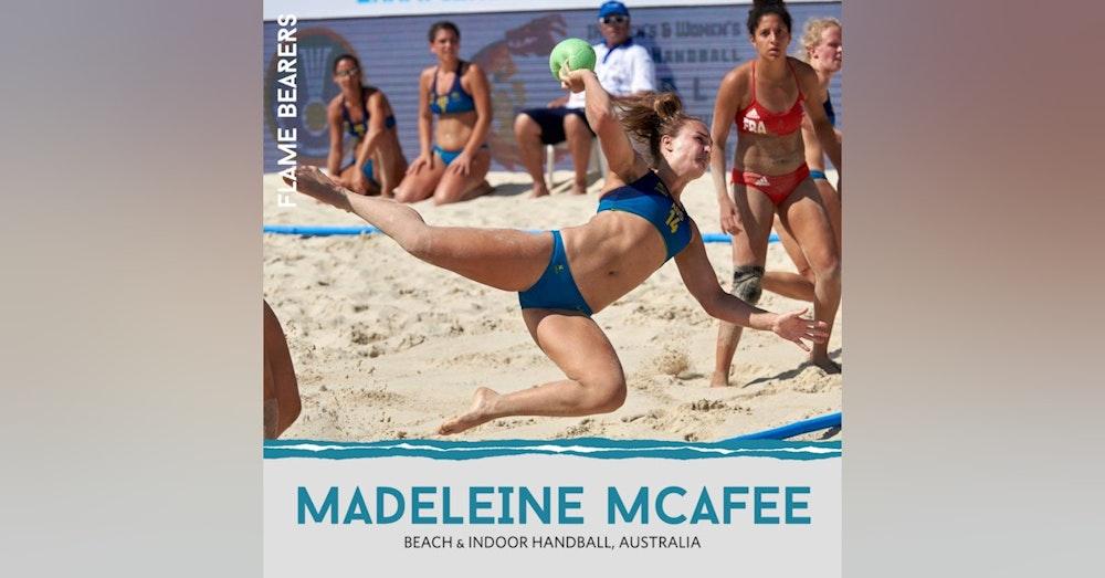 Madeleine McAffe & Tanya Beths (Australia): Managing Careers, Health & Beach Handball